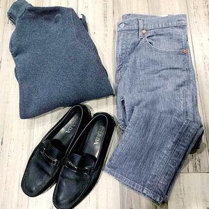 Levi's 511 Gray Jeans Men's Sz.34x30
